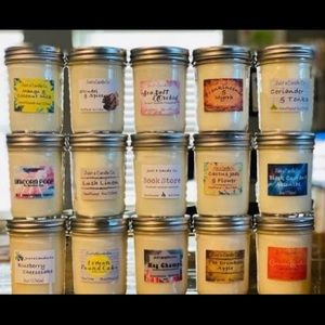 handmade scented candles bundle- reserved